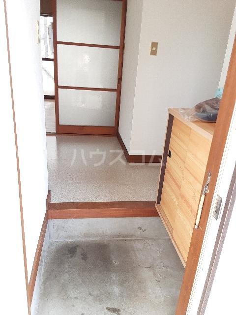 ひかりハウス 102号室の玄関