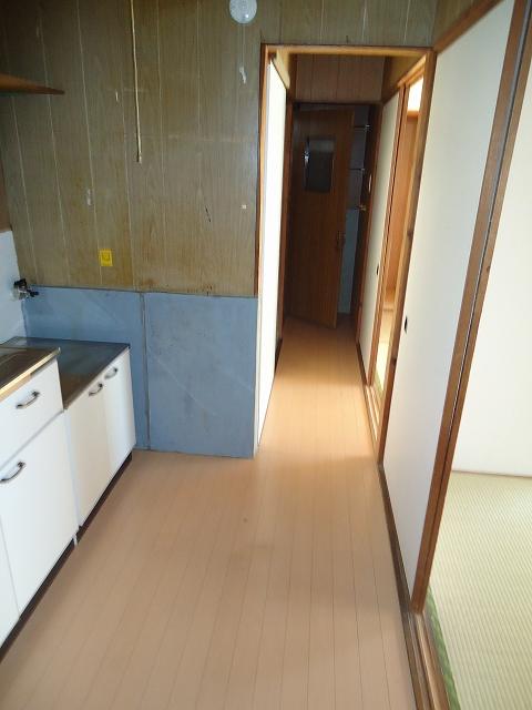 那須住宅 12号室のキッチン