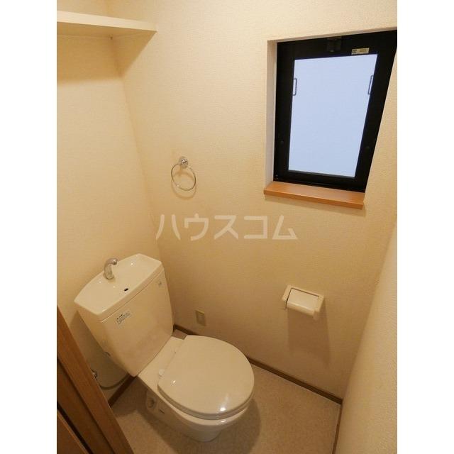 アイゼン竹下 105号室のトイレ