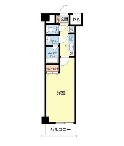 スカイコート板橋五番館・208号室の間取り