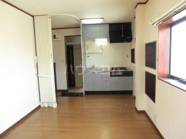 睦マンション 301号室のバルコニー
