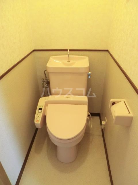 睦マンション 301号室のトイレ