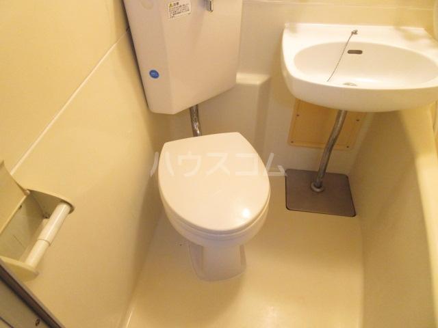 スカイハイツ 101号室のトイレ