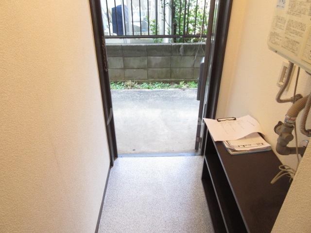 スカイハイツ 101号室のバルコニー