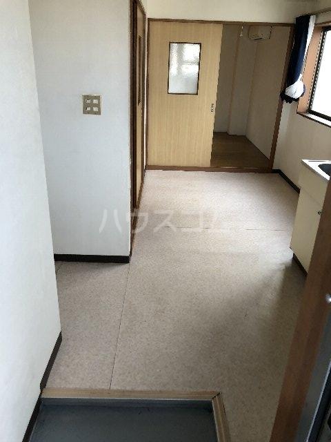 シティ長栄 205号室の玄関