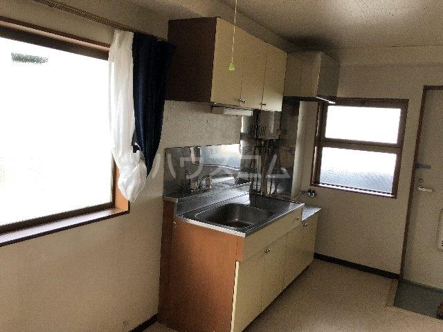 シティ長栄 205号室のキッチン