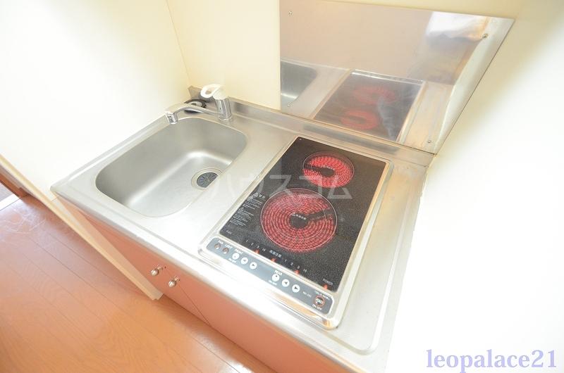 レオパレス太陽 102号室のキッチン
