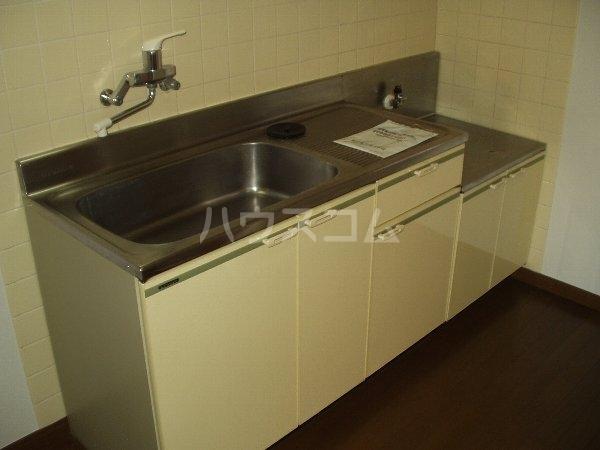 グランド千葉東 2-D号室のキッチン
