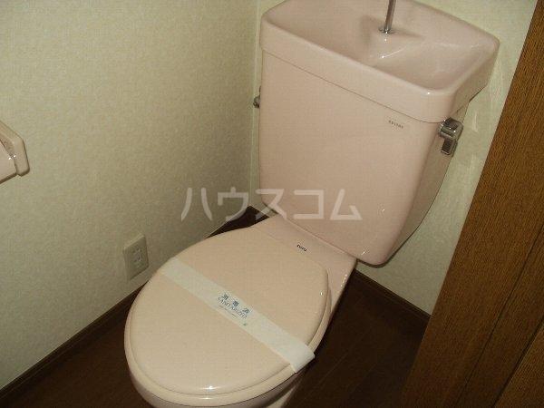 グランド千葉東 2-D号室のトイレ