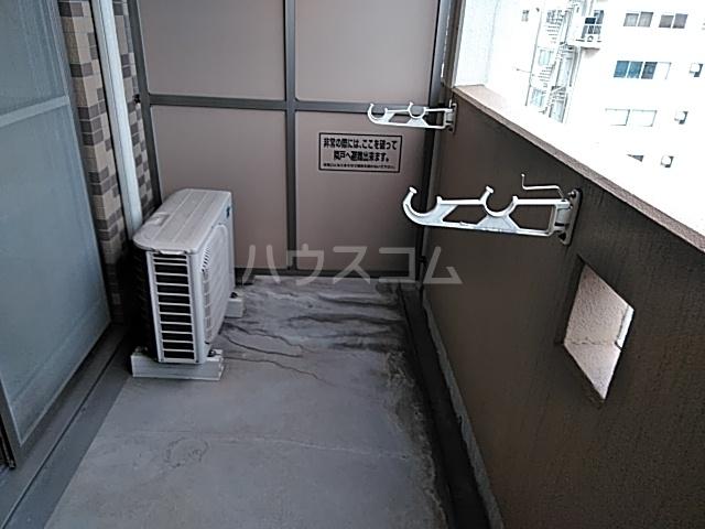 新千葉小川マンション 603号室のバルコニー