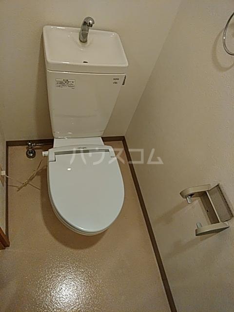 新千葉小川マンション 603号室のトイレ