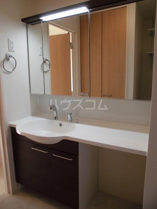 シーホス A 202号室の洗面所