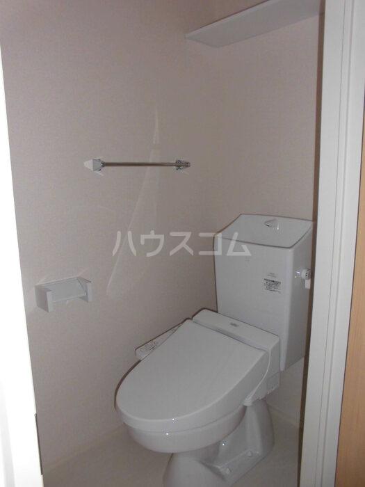 シーホス A 202号室のトイレ