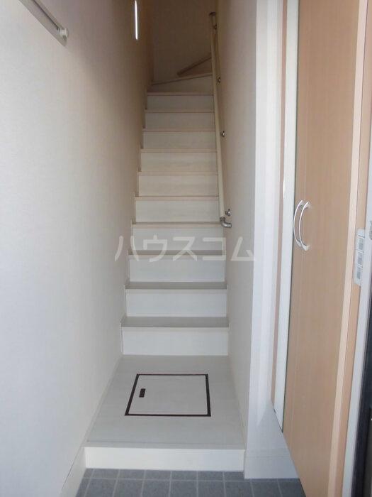 シーホス A 202号室の玄関