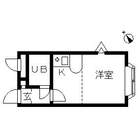 ベルピア・湘南深沢第1・203号室の間取り