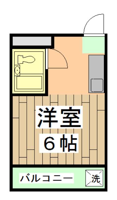 第28長栄四条SKハイツ・402号室の間取り