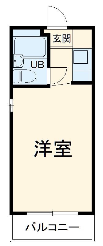 プレスイン西笠寺・2D号室の間取り