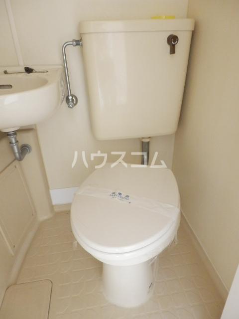 インセゾン弐番館 00107号室のトイレ