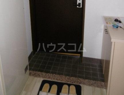 サン・スグモビル 801号室の玄関