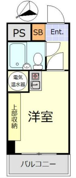 ライオンズマンション新大塚・313号室の間取り