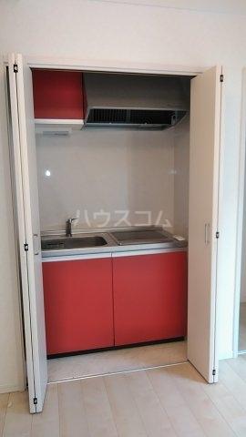 グランドラインハイツ 202号室のキッチン