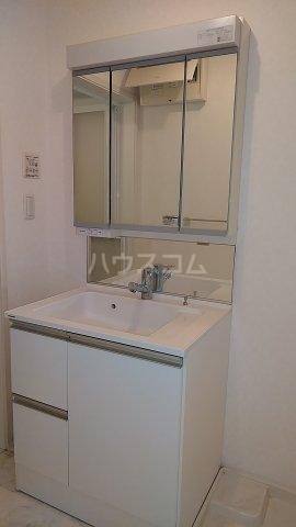グランドラインハイツ 202号室の洗面所