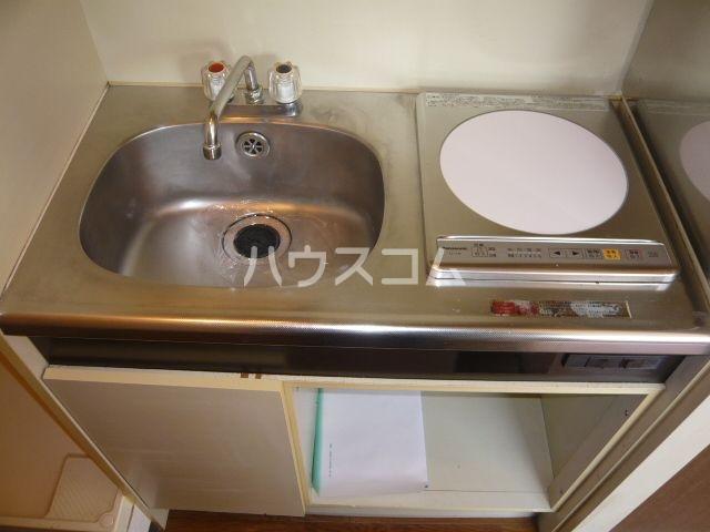 ベルドミール 4A号室のキッチン