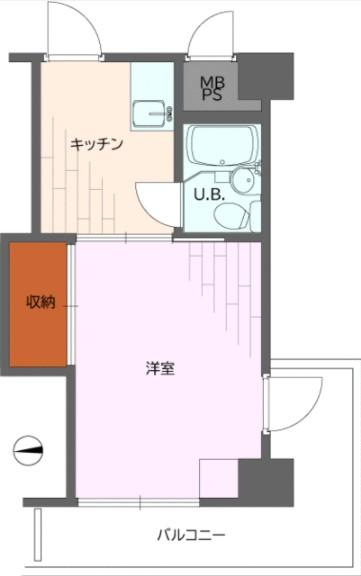 東京ベイビュウ・928号室の間取り