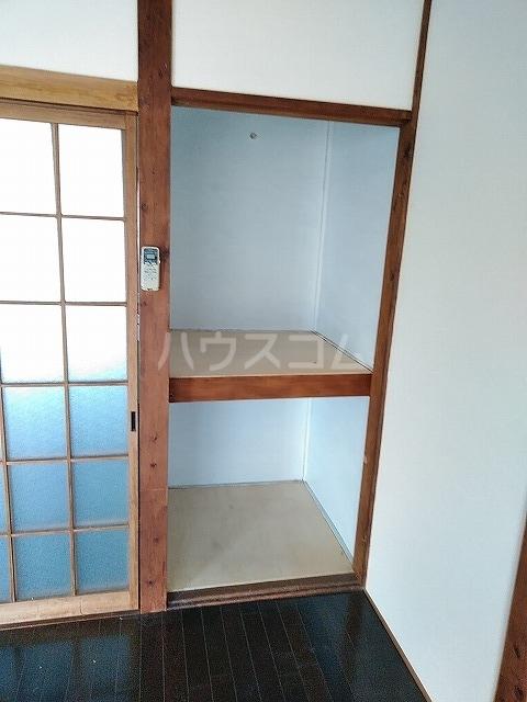 つがね荘 2-F号室の収納