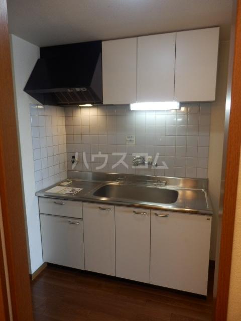 リヴスペースW 303号室のキッチン
