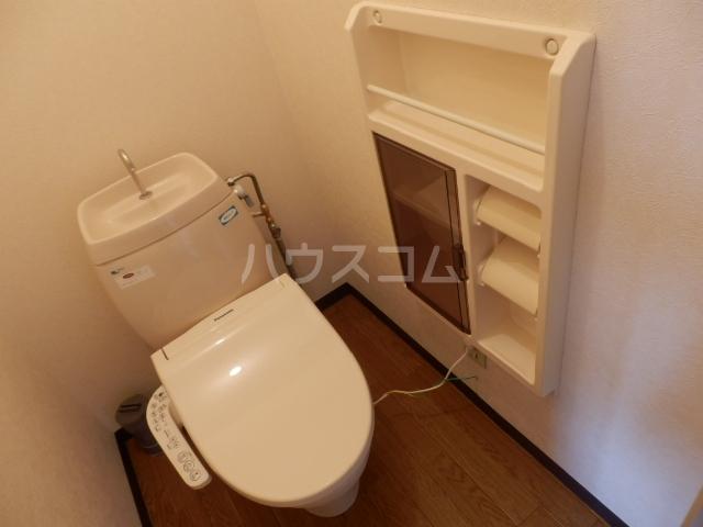 セント・ビラ92B 00201号室のトイレ