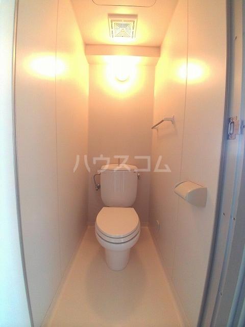 エバーグリーン明大寺 205号室のトイレ