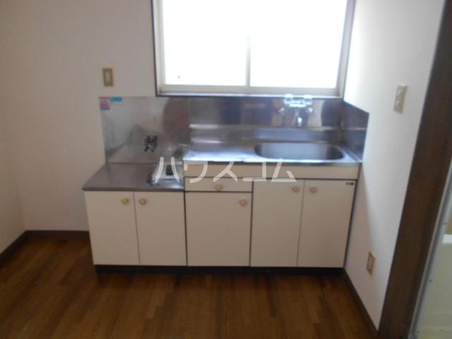 エスポワールゆとり 103号室のキッチン
