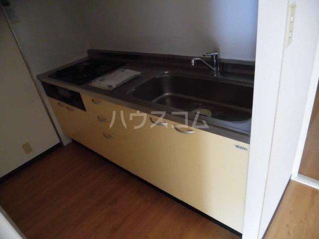 ノーブル膳棚 00204号室のキッチン