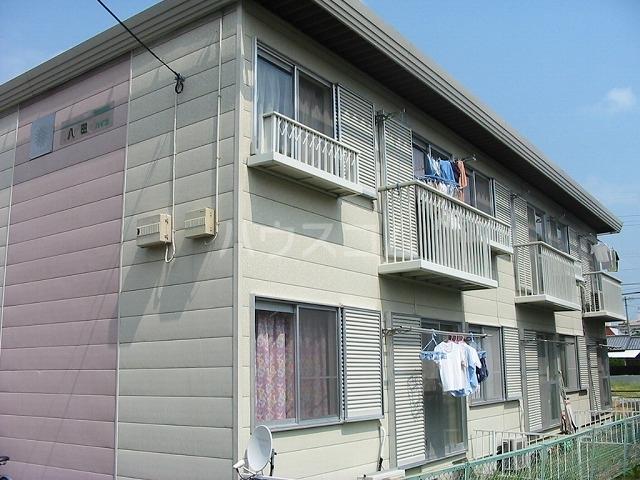 八田ハイツ 203号室の外観
