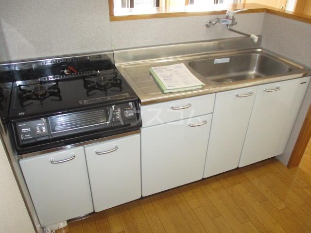 ル・シェモア 203号室のキッチン