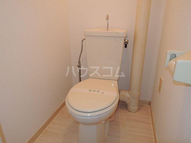 二口屋ビル 402号室のトイレ