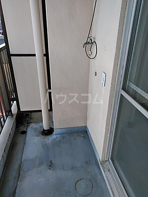 中津ビル 401号室のバルコニー