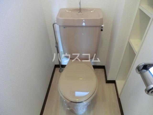 ラディアント柴田 204号室のトイレ