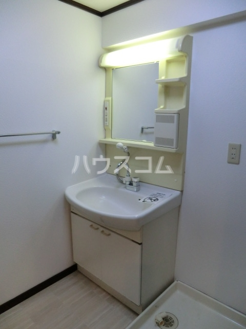 ラディアント柴田 204号室の洗面所