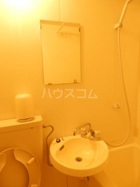 ラトゥール御替地 507号室の洗面所