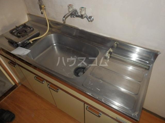 ビラ東海 30A号室のキッチン
