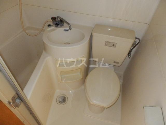 ビラ東海 30A号室のトイレ