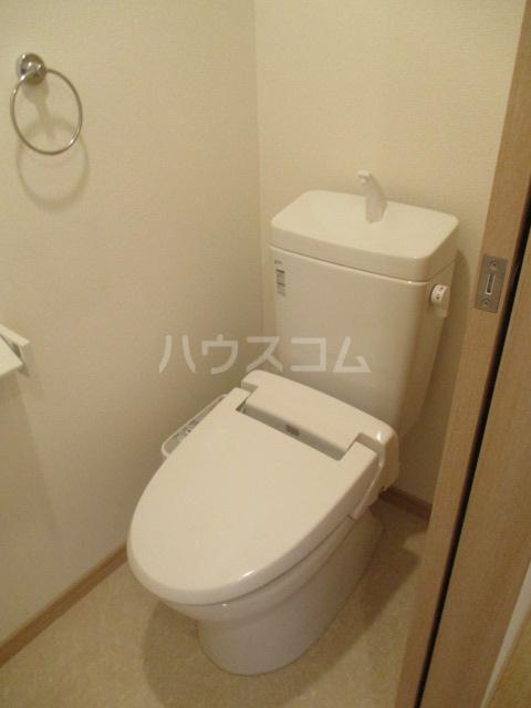 Vinculum 102号室のトイレ