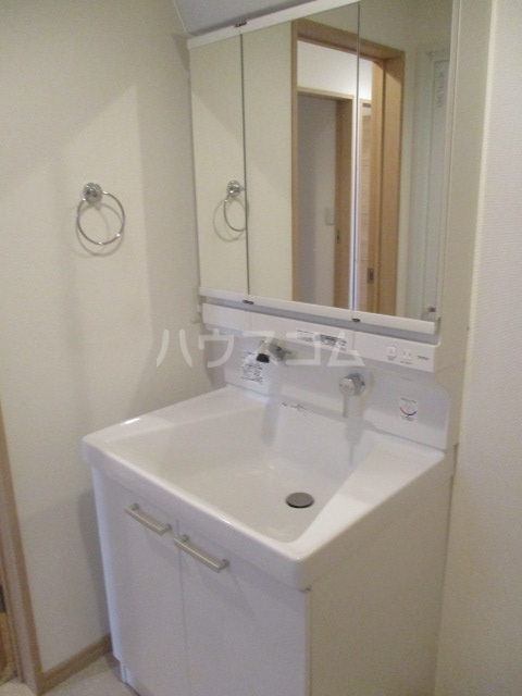 Vinculum 102号室の洗面所