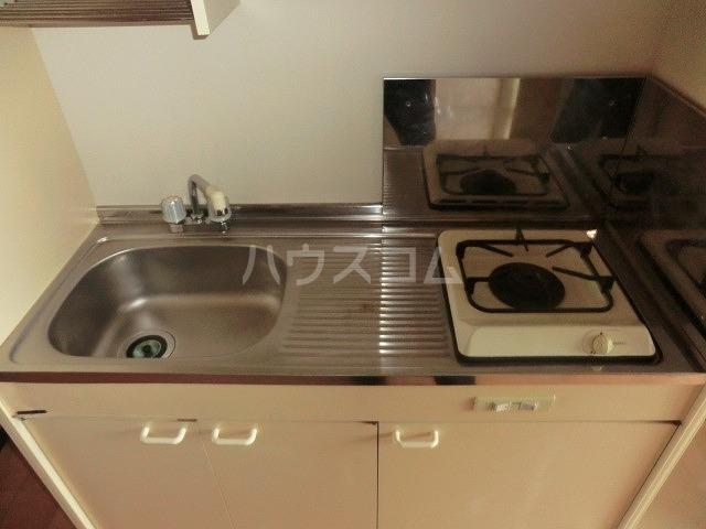 マンションヴィクトリーⅡ 303号室のキッチン