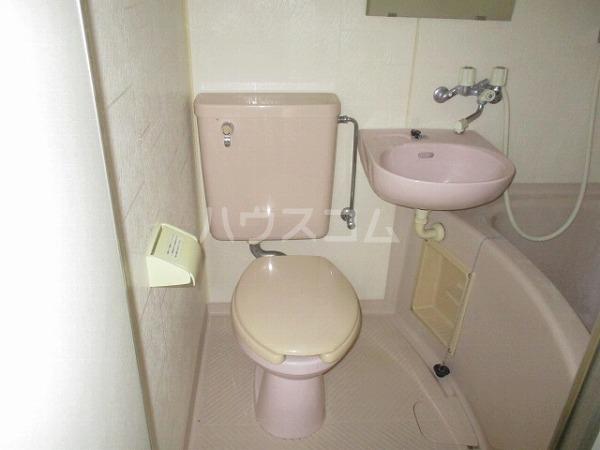 グランドビュー大池 201号室のトイレ