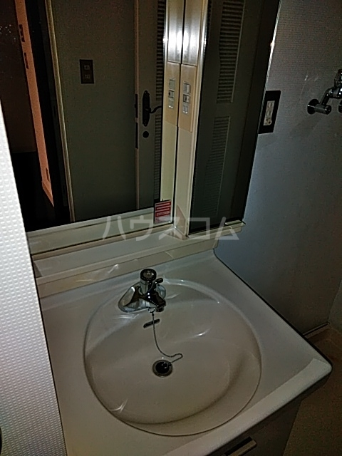 学校裏八幡マンション 106号室の洗面所