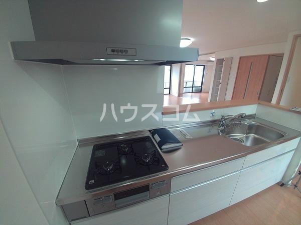 サンハイツセジュール B棟 201号室のキッチン