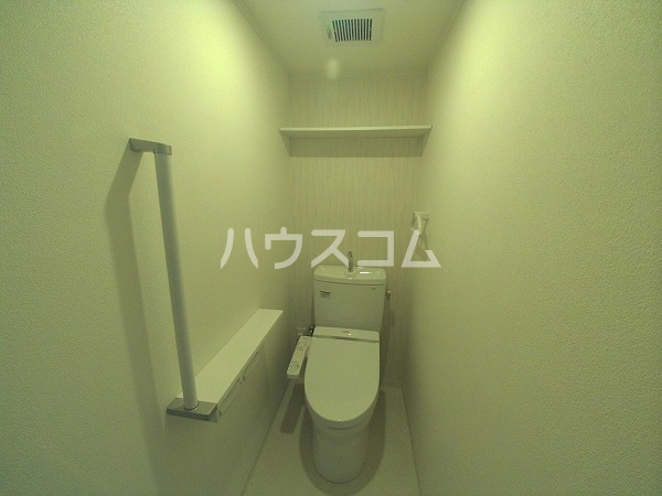 サンハイツセジュール B棟 201号室のトイレ